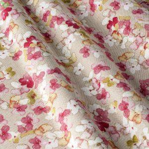 Декоративная ткань с нежными лепестками роз на светло-сером: Испания, ширина 280, цена 520 грн. – новая 220 грн.