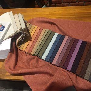 ткань мешковина, большая цветовая растяжка, ширина 3м, цена 750 новая 430 грн